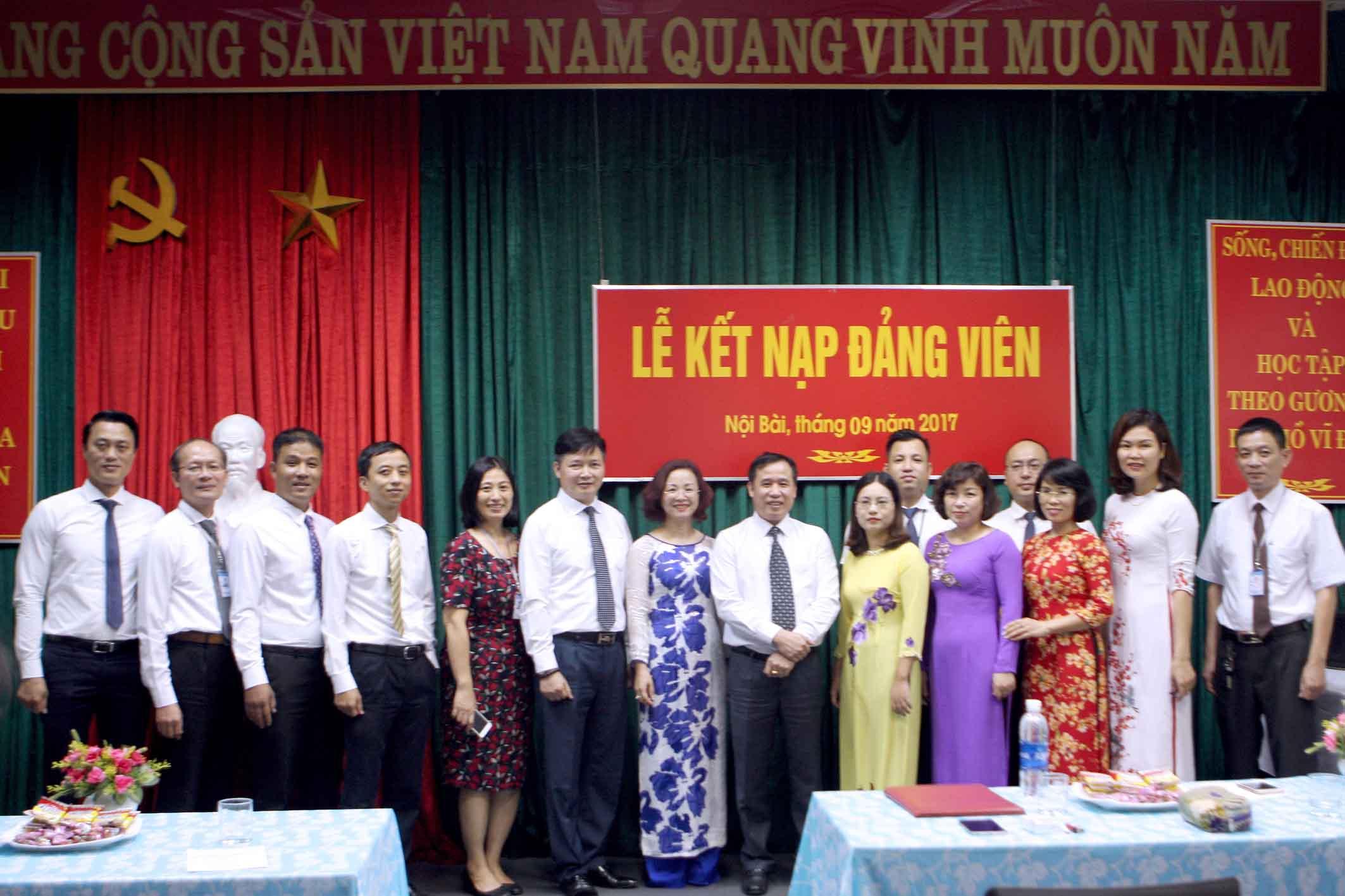 Lễ kết nạp Đảng 2017